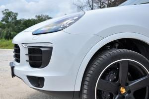Porsche Cayenne Platinum Edition Nose Malaysia 2017