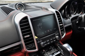 Porsche Cayenne Platinum Edition PCM Screen Malaysia
