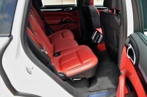 Porsche Cayenne Platinum Edition Rear Seats Malaysia