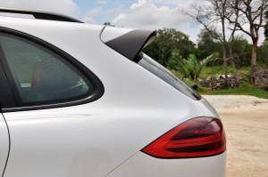 Porsche Cayenne Platinum Edition Rear Spoiler Malaysia 2017