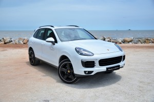 Porsche Cayenne Platinum Edition Test Drive Malaysia 2017