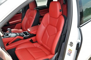 Porsche Cayenne Platinum Edition Front Seats Malaysia