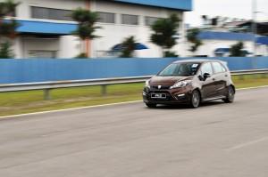 Proton Iriz 1.6 Premium Malaysia 2017 Track