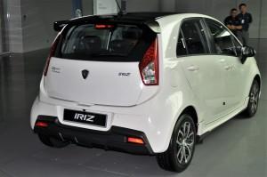 Proton Iriz 1.6 Premium Rear View Malaysia 2017