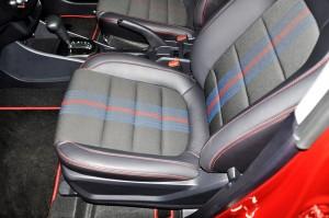 Proton Iriz 2017 Front Seat, Malaysia