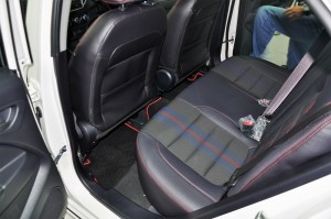 Proton Iriz 1.6 Premium Rear Seats Malaysia 2017