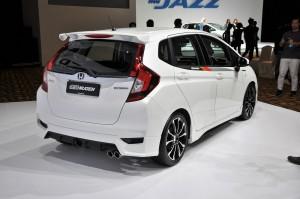 Honda Jazz Hybrid Mugen Kit Back Malaysia 2017