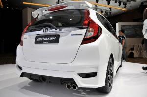 Honda Jazz Hybrid Mugen Kit Rear Under Spoiler Malaysia 2017