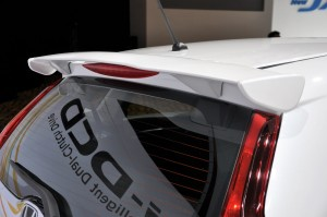 Honda Jazz Hybrid Mugen Kit Tailgate Spoiler Malaysia 2017
