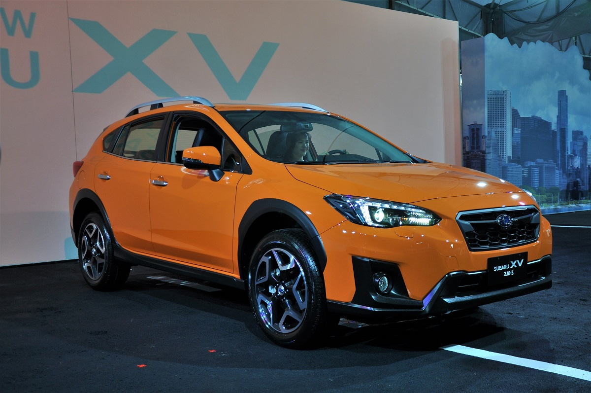 new subaru xv launched in taiwan ckd in 4q2017. Black Bedroom Furniture Sets. Home Design Ideas