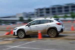 Subaru XV Test Taiwan 2017