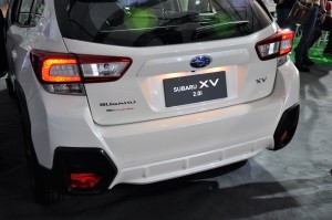 Subaru XV 2.0i Rear Taiwan Regional Launch 2017