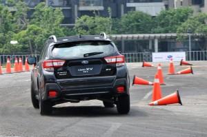 Subaru XV 2.0i-S Slalom Rear, Taiwan 2017