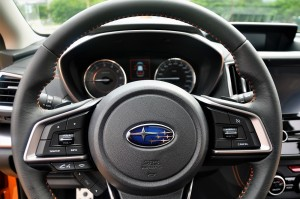 Subaru XV 2.0i-S Steering Wheel Close Up Taiwan 2017