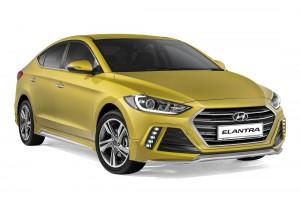 Hyundai Elantra Dynamic Front Malaysia 2017