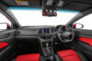 Hyundai Elantra Sport Interior Malaysia 2017