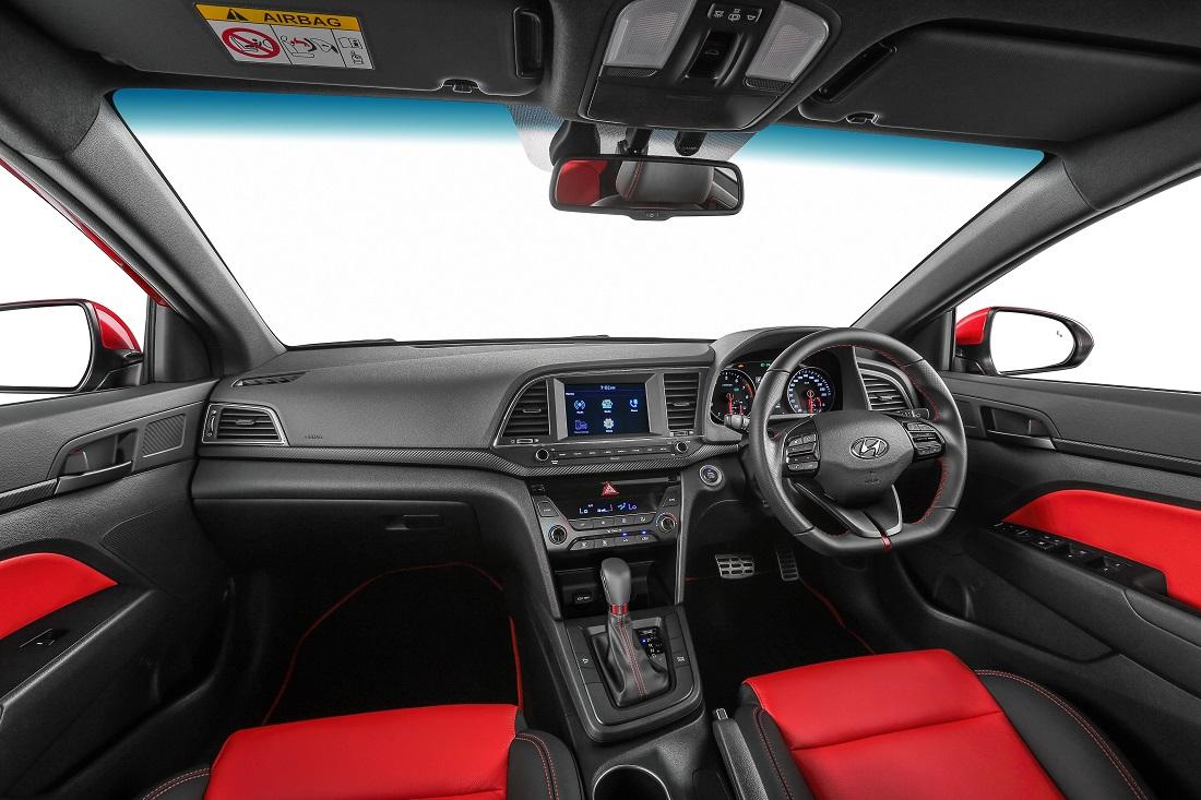 New hyundai elantra launched 3 variants including a turbo for Hyundai elantra sport interior