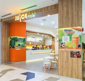 Juice Works Starling Mall #GrabJuice Offer 2017