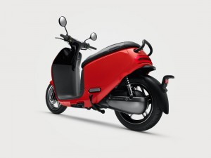 Gogoro 2 Smartscooter Rear View 2017