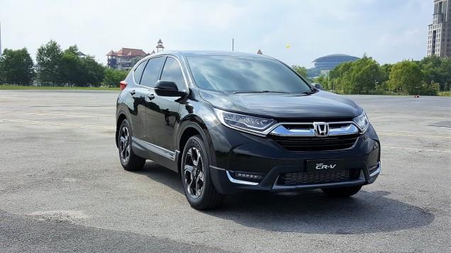 New CR-V Teaser Drive By Honda