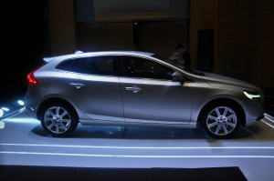 Volvo V40 T5 Inscription Side View Malaysia 2017