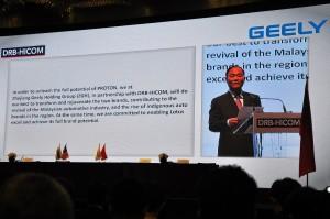 Zhejiang Geely Chairman Li Shufu, Proton 2017