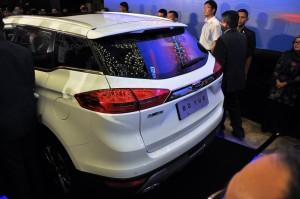 Geely Boyue Preview Rear Malaysia 2017, Proton