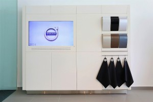 Volvo Showroom Juru Penang, Display Area