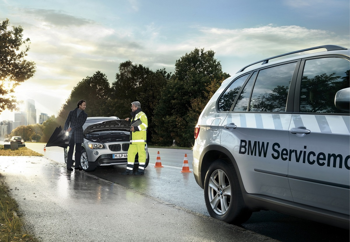 New Roadside Assistance Accident Hotline Program For Bmw Mini