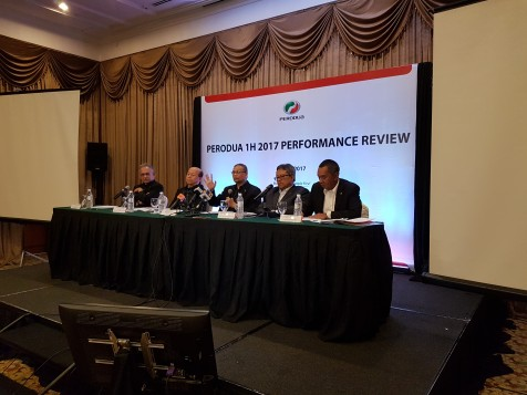 Perodua Records Slight Increase In Sales For 1H2017