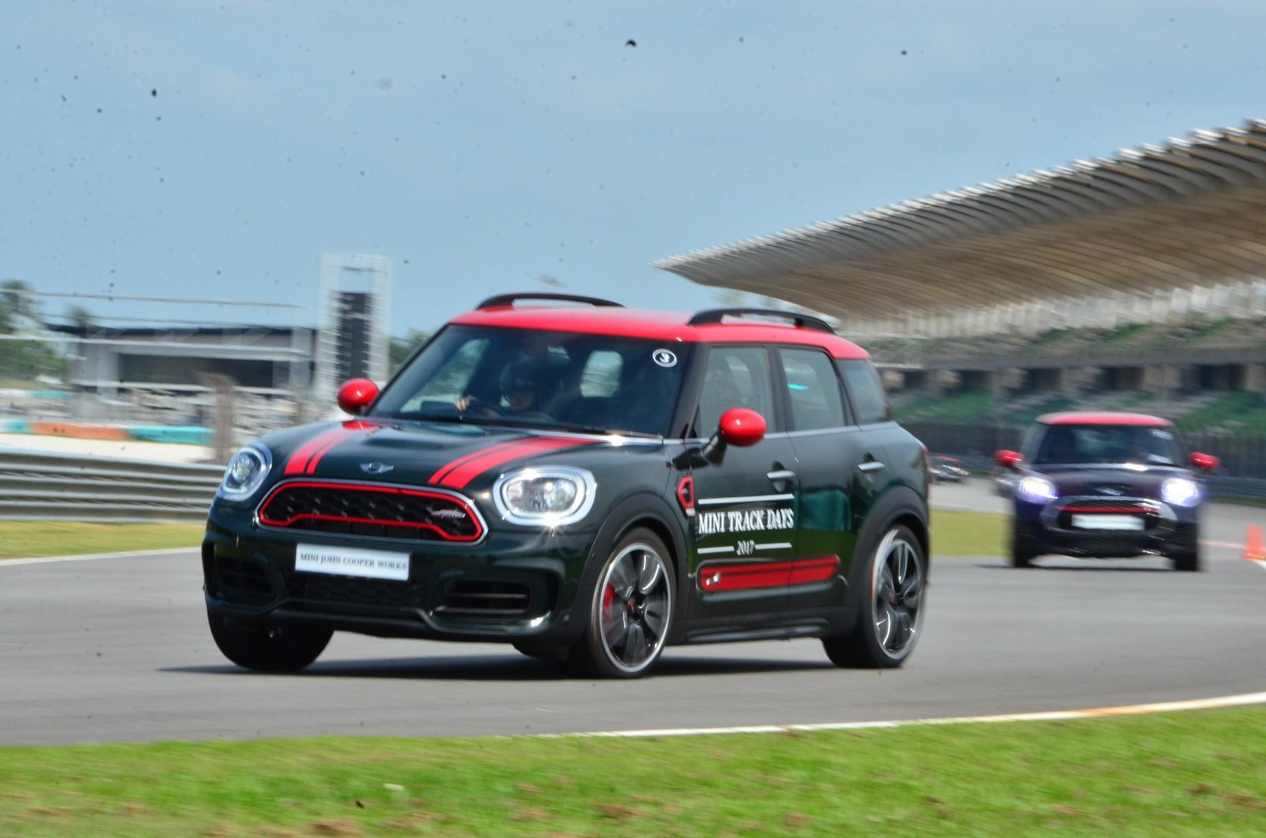 Mini Malaysia Introduces John Cooper Works Range With Mini Track
