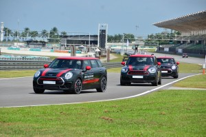 JCW variants being tested on SIC track. YSK_7257