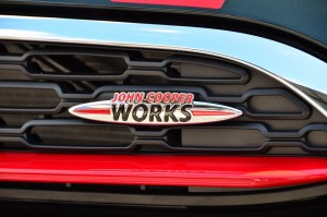 The JCW Logo Says it all for the top-of-the heap MINI YSK_7255