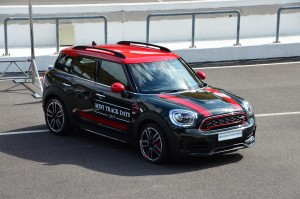 The JCW Countryman  - note the roof rails. YSK_7235