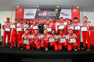 Toyota Vios Challenge Racing School Graduates, Malaysia 2017, Toyota GAZOO Racing