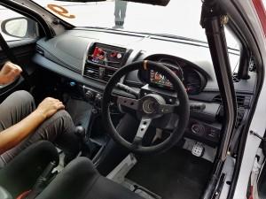 Toyota Vios Challenge Car Interior, Malaysia 2017