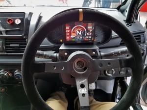 Toyota Vios Challenge Car, Steering & Dashboard Display, Malaysia 2017