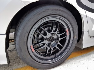 Toyota Vios Challenge Car, Enkei Wheels, Toyo Tires, Malaysia 2017