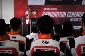 Toyota Vios Challenge Racing School Graduation, Sepang Malaysia 2017