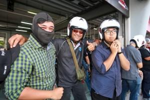 Toyota Vios Challenge, Motoring Journalists Keegan Dorai, Chris Wee & Aswan Yap, Malaysia 2017