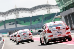 Toyota Vios Challenge, Pit Lane, Sepang Circuit Malaysia 2017