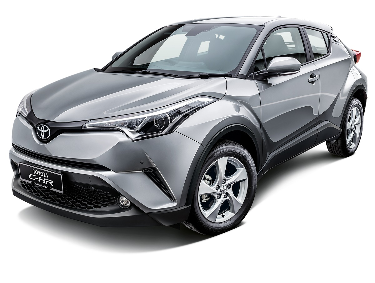 the toyota c-hr will be at selected showrooms and shopping malls
