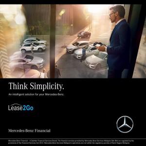 Mercedes-Benz Financial Lease2Go, Malaysia