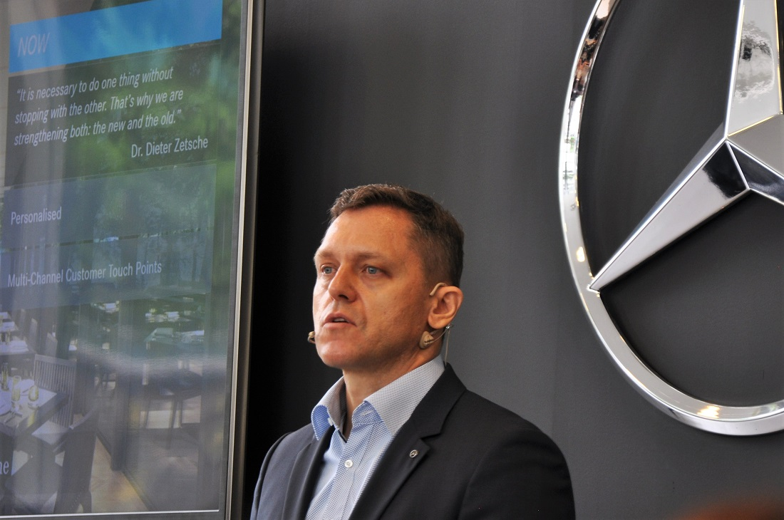 Mercedes benz malaysia ups customer experience to drive for Mercedes benz ceo