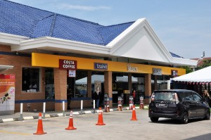 Shell Select Convenience Store, Costa Coffee, Malaysia 2017