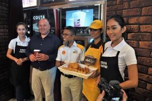 Shell Select Malaysia, Costa Coffee - Scott Martin & Shairan Huzani Husain