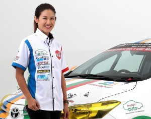 Leona Chin, Team Manager - MUDAH Racing Malaysia - Vios Challenge 2017