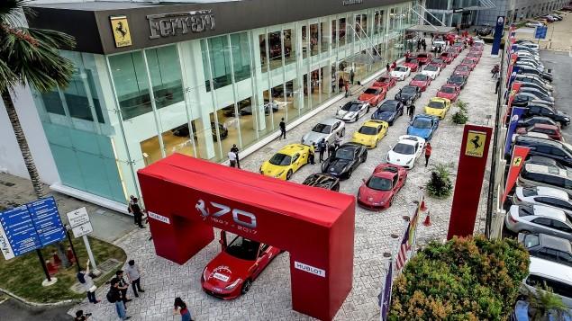 Ferrari Celebrates Its 70th Anniversary At Penang UNESCO World Heritage Site