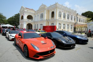 Ferrari Malaysia Grand Celebration at Penang City Hall - 70th Anniversary