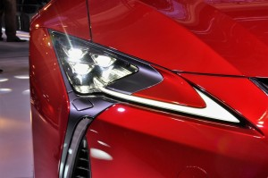 Lexus LC 500 LED Headlight and DRL, Malaysia 2017